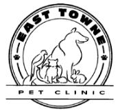 East Towne Pet Clinic logo